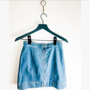 The Fifth Label women's denim skirt small